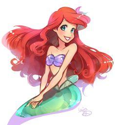 Ariel  #ldisneyart #disney