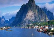 norway fjords - Norway Fjords Wallpaper