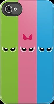 The Powerpuff Girls Phone back . P.S.  So envy I could die !!!!!!!!!