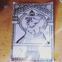 Doodle of ganesha