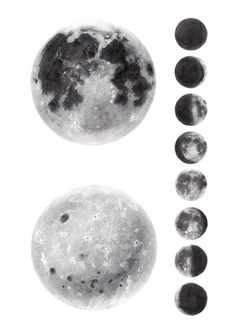 IL·LUSTRACIÈNCIA: Lámina Lunar - Antía Otero Couselo