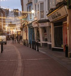 Hastings Old Town. England.