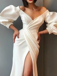 Elegant Dresses, Pretty Dresses, Sexy Dresses, Beautiful Dresses, Fashion Dresses, Long Dresses, Formal Dresses, Open Dress, Dress Up