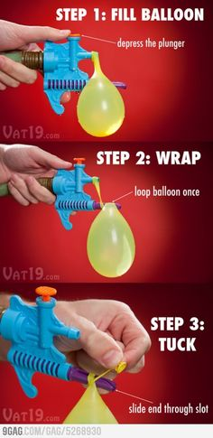 Can't wait to have a water balloon fight! Water Balloon Fight, Water Fight, Water Balloons, Great Inventions, Take My Money, Summer Bucket Lists, Try Something New, Summer Activities, Cool Gadgets