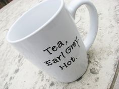 If I had one of these, I would take it to work and drink my tea from it, and see which of my coworkers got it.