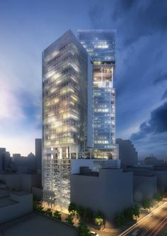 Richard Meier Unveils 180-Meter Tower Development in Mexico | ArchDaily