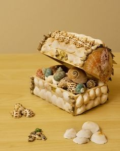 Activities: Make a Shell Craft Treasure Box