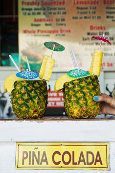 Tutti Frutti Juice Bar, Key West Key West Florida, Florida Keys, Florida Vacation, Florida Travel, Pina Colada, Pineapple Drinks, Key West Vacations, Fl Keys, Beach Bars