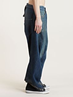 Levi's Red Archive men's Blue Print Giant Twisted Jeans