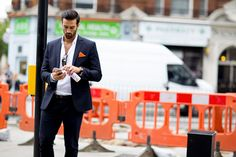 London Collection: Men SS16 Street Style