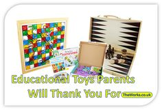 Educational Toys that make great presents. Parents will like these gifts | The Works #KidsGifts #EducationalToys