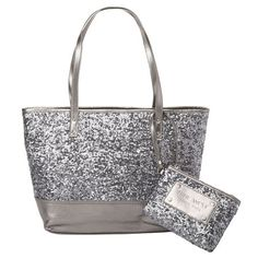 2e78b3918 Merry Christmas to me from the best brother ever! Bridesmaid Gift Bags,  Silver Sequin