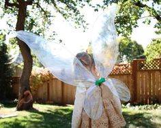 These Wings That Would Send Tinker Bell Into A Red-Faced Jealous Rage | 24 DIY Fairy, Dragon, And Butterfly Wings For Kids