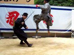 Ninja Demonstration in Iga Ueno, Japan - YouTube