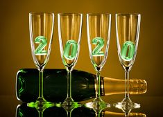 Gify Nena - Nový rok 1 Flute, Champagne, Tableware, Image, Dinnerware, Tablewares, Flutes, Dishes, Tin Whistle