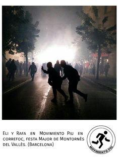 Movimiento Piu en Barcelona.