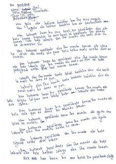 Jeni, 13, Timor-Leste // Click to read Jeni's letter in English #smallvoices #respect #childfund