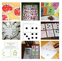 pinterest home preschool organization | ... few simple activities for counting and numbers over on Pinterest