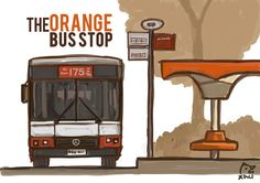 The Orange Bus Stop | 9th August 2013 | The Singapura Images | theMOOSE | makan travel 画画 * a Singapore food and travel blog #NationalDay
