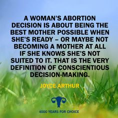 ...and responsibility. Stop letting anti-choicers redefine what 'responsibility' means. #abortion