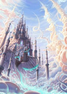 Hot Digital Illustrations by Jia Xing Yap #FantasyLand