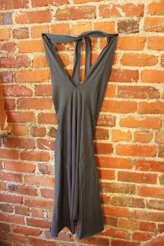 EUC American Apparel Women's SZ Large Cotton Spandex Jersey Bandeau Dress #AmericanApparel
