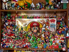 I'm a little jealous of this guy's Nintendo collection.