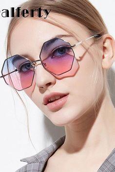 Pin on Trendy Sunglasses 2019 Pin on Trendy Sunglasses 2019 Glasses Frames Trendy, Cute Glasses, Stylish Sunglasses, Cat Eye Sunglasses, Hexagon Sunglasses, Glasses Trends, Lunette Style, Fashion Eye Glasses, Accesorios Casual