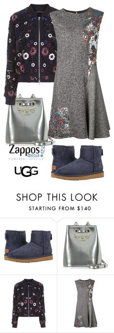 """""""The Icon Perfected: UGG Classic II Contest Entry"""" by alenaglush ❤ liked on Polyvore featuring UGG, Charlotte Olympia, Needle & Thread, STELLA McCARTNEY, ugg and contestentry"""