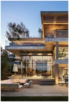 Contemporary house is built according to the latest trends. The contemporary mov… Contemporary house is built according to the latest trends. The contemporary movement in architecture began in XX century.