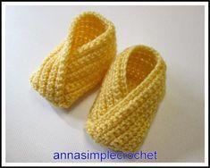 New Crochet Bebe French Ideas Crochet Baby Beanie, Crochet Headband Pattern, Crochet Shoes, Crochet Baby Booties, Crochet Slippers, Crochet Bebe, Easy Crochet, Free Crochet, Knit Crochet