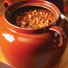 Fèves au lard Summer Recipes, New Recipes, Slow Cooker Recipes, Crockpot Recipes, Cookbook Recipes, Cooking Recipes, Baked Bean Recipes, Beans Recipes, Ricardo Recipe