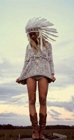Inspiración free spirit #bohochic #free #cool #fashion #hippy #hippie #etnico #etnic #bohemian ☼ ☼ Preciosas Indígenas Joyas ☼ ☼ para descubrir nuestras joyas visita nuestra #tiendaonline http://www.preciosasindigenas.com/ ☼