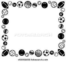 96 Sports Borders Tiny Clipart - Teachers Border - Free Transparent PNG  Clipart Images Download