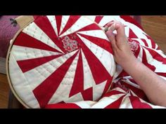 Big Stitch Hand Quilting Demonstration - Minick and Simpson