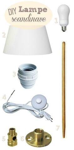 un diy parfait pinterest bocaux le parfait diy lampe. Black Bedroom Furniture Sets. Home Design Ideas