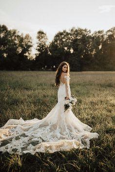 romantic bridal portrait ideas