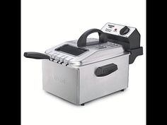 Waring Pro Professional Deep Fryer with 3 Fry Baskets - http://healthcookingreview.com/waring-pro-professional-deep-fryer-with-3-fry-baskets-2/