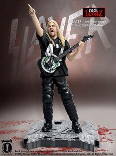 Slayer - Jeff Hanneman Action Figure - 2014