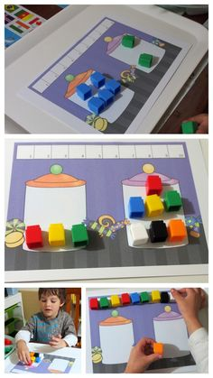 Unifix Cubes Print & Play Addition to 10 Story Mats >> United Teaching. Great way to teach the part part whole strategy with young children.