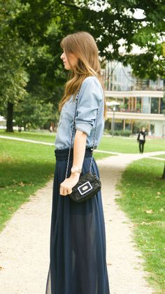 4 Days 4 Ways: Wie trägt man einen Maxirock