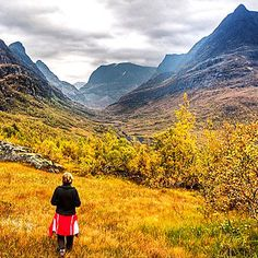 Autumns colour, Norway