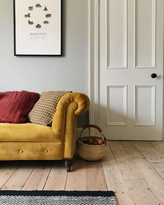 Walls in Hardwick White and woodwork in Slipper Satin Home Interior, Home Living Room, Interior Design Living Room, Living Room Decor, Living Spaces, Victorian Living Room, Cosy Home, Home Decor Inspiration, Decorating Your Home