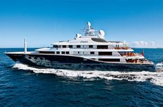 The six-deck motor yacht Cakewalk -  Seatech Marine Products / Daily Watermakers