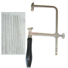 SE - Saw Frame Set - Professional Jeweler's, Frame w/Blades, 3in. SE http://www.amazon.com/dp/B004CVMYJ8/ref=cm_sw_r_pi_dp_ENm4ub1R516MA