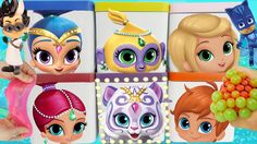 There are 6 surprise blind boxes with toys inside! We have Shimmer Shine Tala Nahal Zach and Leah on the boxes. Toys include slime balls slime mashems fashems sofia the first kinder chocolate eggs and more. Other characters in Shimmer and Shine are Princess Samira Roya Zeta and Nazboo. Subscribe here to never miss a video: https://www.youtube.com/channel/UCsRW8ikkc-uISUXtNKBfFcw?sub_confirmation=1 - Watch my last video: https://youtu.be/_kSgqPpmos0 Video Links from Annotations Shimmer and…