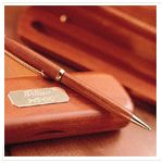 Jot down your daily activities and record your inspired thoughts. Crafted of the finest rosewood, our classic pen box set is the perfect complement to our keepsake journal.   Retirerment gifts