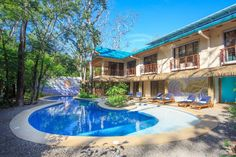 The first LEED certified surf hotel in the world, Olas Verdes is a small boutique hotel at Playa Guiones on the remote Nicoya Peninsula of Costa Rica.