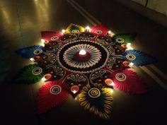 Flowers pattern design retro 58 Ideas for 2019 Easy Rangoli Designs Videos, Rangoli Designs Simple Diwali, Indian Rangoli Designs, Rangoli Designs Latest, Rangoli Designs Flower, Free Hand Rangoli Design, Rangoli Border Designs, Small Rangoli Design, Rangoli Patterns