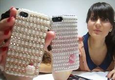 Artes Manuais com Kika Florence: Tutorial customização de case para celular